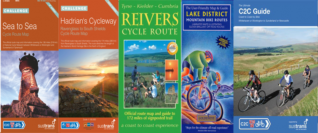 Coast to Coast c2c maps & books Haven Cycles