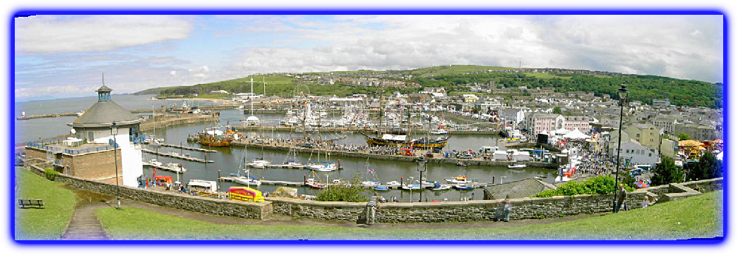 Whitehaven Harbour coast to coast c2c start Haven Cycles